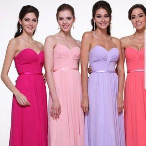 Dresses & Skirts - Blush pink bridesmaid/ prom dress♥️