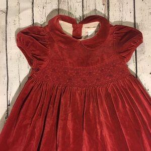 c31fe487118e Janie and Jack Dresses   Janie Jack Christmas Dress 3t Smocked Red ...