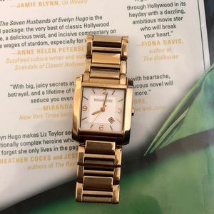 Michael Kora gold bracelet watch MK 3047