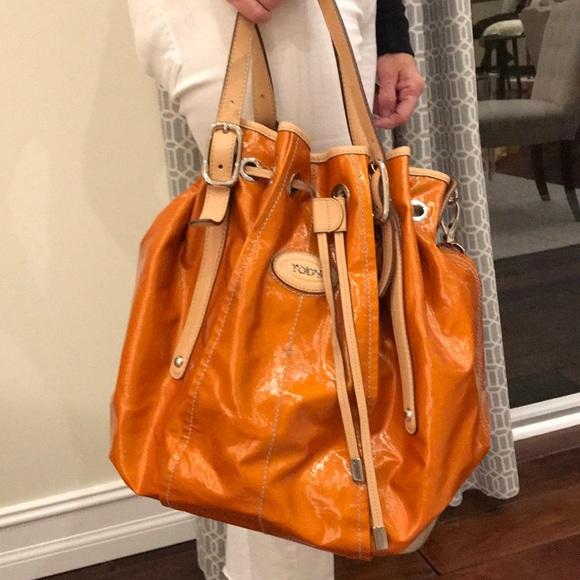 13d3d5abdc069 Tod's Orange Bucket Bag. M_5a18a45199086a1d45088d99