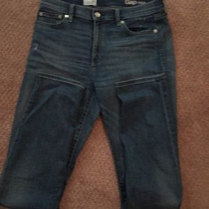 Gap 1969 distressed jeans.