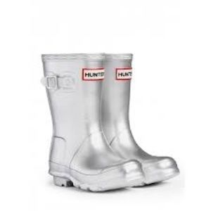 Silver hunter boots