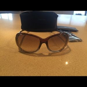 Tom Ford Jennifer sunglasses brown