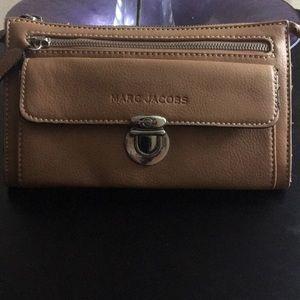Mark Jacobs wallet camel color
