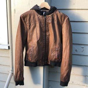 Free people pleather jacket