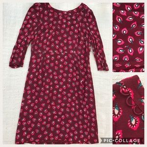 Boden Graphic Print Dress NWT