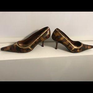 Vintage Metallic Brown Shoes