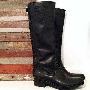 Hunter Leather Riding Boot
