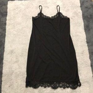 H&M slip lace dress