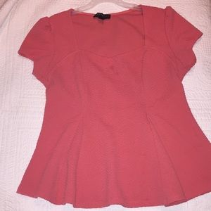 Forever 21 plus size peplum shirt