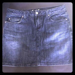 Juicy Couture denim mini skirt EUC