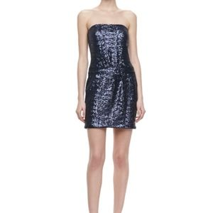 (NEW) LAUNDRY by Shelli Segal Strapless Dress