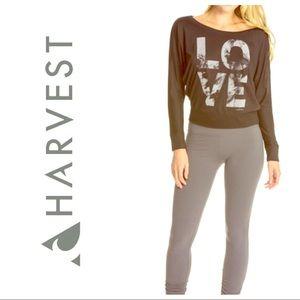 Harvest Tops - Harvest Yoga Long Sleeve Flowy Love Shirt Top