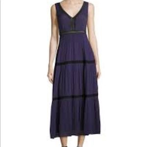 Ella Moss dress with lace trim. XS