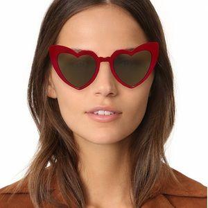 The Loulou Heart Sunglasses