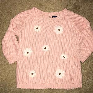 Peach pink sweater