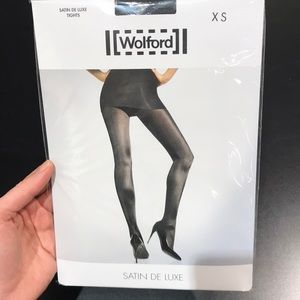 brand new Wolford Satin De Luxe Tight