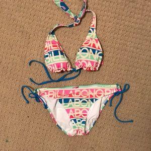 Reversible billabong bikini