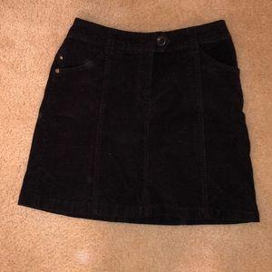 H&M corduroy mini skirt
