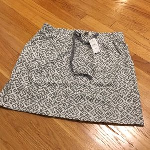 NWT Loft Cotton Print Skirt
