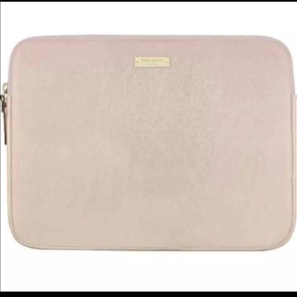 best service c280a a535e Rose Gold Kate Spade Laptop Case
