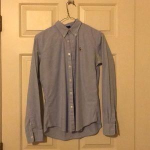Women's Ralph Lauren slim fit oxford shirt