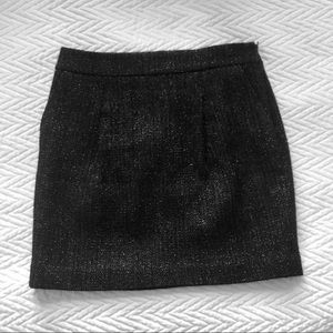 [Ann Taylor] Petite Wool-blend Mini Skirt