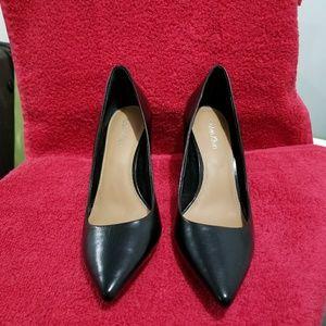 Calvin Klein sleek black heels