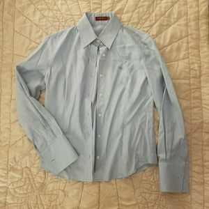 Burberry Button Down Shirt with French Cuffs