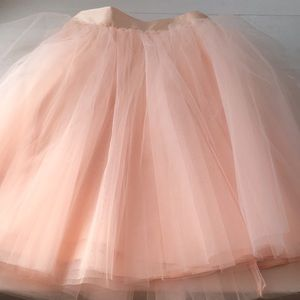 Space 46 Tulle Skirt - Blush 22 inches