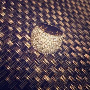 Michael Kors gold diamond ring 💍