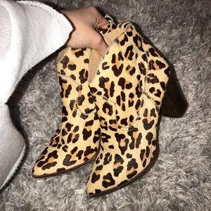 Steve Madden Leopard Print Boots