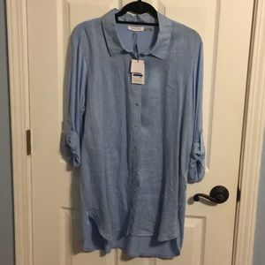 Calvin Klein tunic style shirt