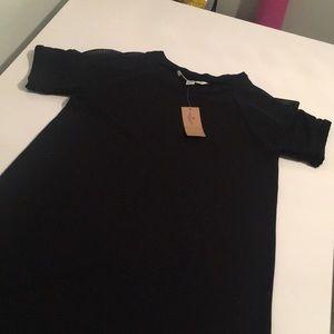 NWT Black Cotton Dress