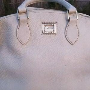 Dooney & Bourke white bag.