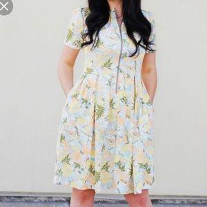 Lularoe XXS Floral Amelia BRAND NEW WITHOUT TAGS