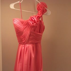 Coral Formal Dress - Size 2