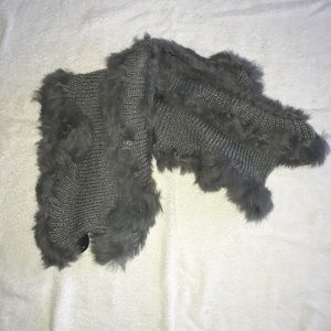 Lydia Rabbit Fur Scarf