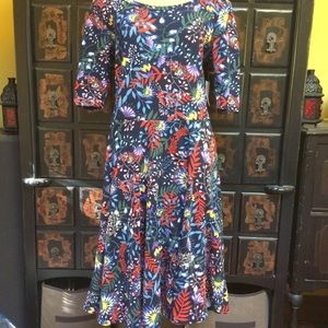 Tastefully colorful garden Lularoe Nicole dress!!