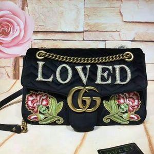 Gucci Marmont Floral Handbag