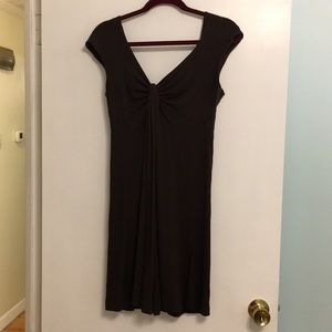 Brown Rayon/spandex Express Dress