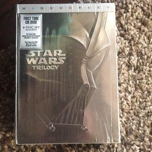 4-Disk Set Star Wars Trilogy