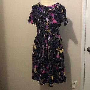 LulaRoe Maleficent Amelia Dress size 2XL
