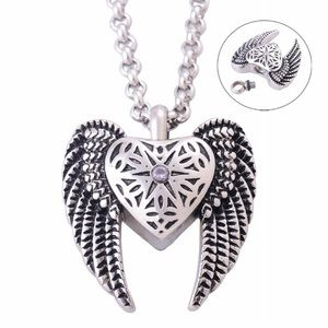 A New Stainless Steel Cremation Urn Necklace