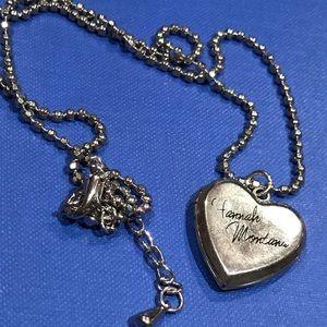 Vintage Disney Hannah Montana heart locket
