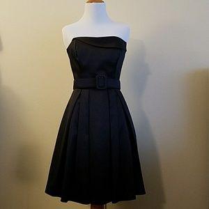 NWT! White House Black Market Strapless Dress