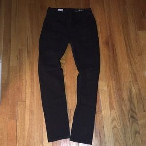 Gap high-rise skinny black jeans!