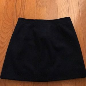 Navy jcrew skirt