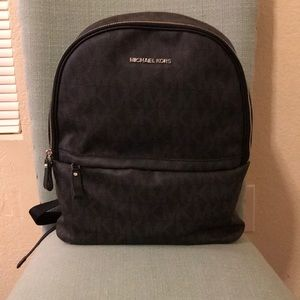 Michael Kors MK Black Designer Backpack