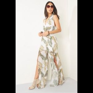 Skylar & Jade Palm Tree Jumpsuit